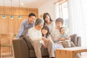 Multi-family enjoying time together.
